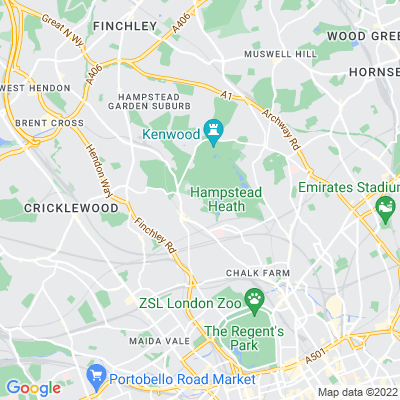 Hampstead Heath, including West Heath Location