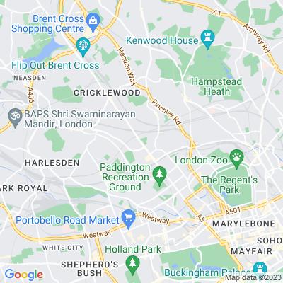 Kilburn Grange Park Location