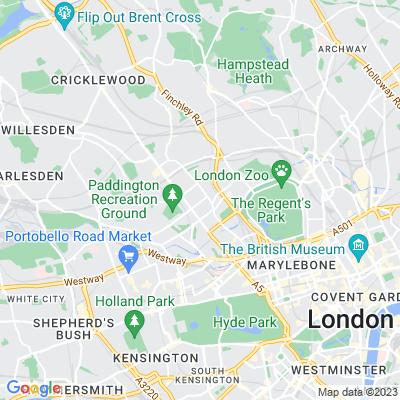 Violet Hill Gardens Location