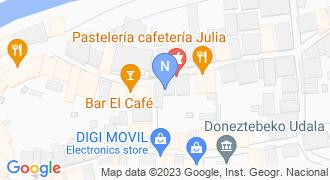 MAPFRE DONEZTEBE mapa