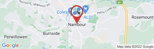 Nambour google map