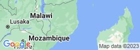 Nampula map
