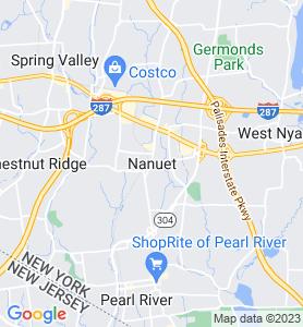 Nanuet NY Map