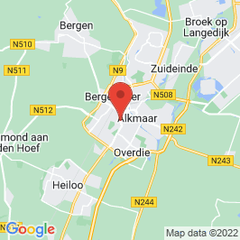 Google map of Kerkencluster Alkmaar - H. Joseph, Alkmaar