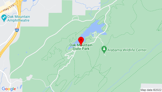 Google Map of Near rear entrance to park, Pelham, AL 35124