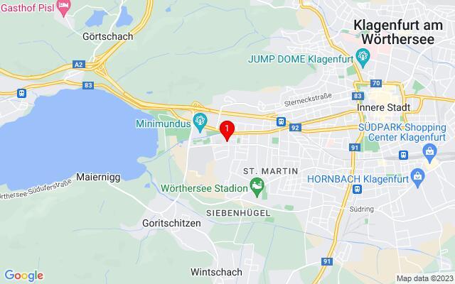 Routenplaner Neckheimgasse+6,+9020+Klagenfurt