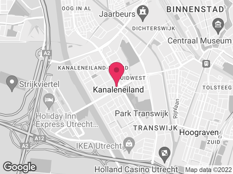 Google Map of Nederlands Centrum Jeugdgezondheid (NCJ) Churchilllaan 11 3527 GV Utrecht