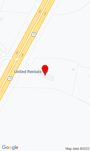 Google Map of Neff Rentals, Inc. 5357 Nc Hwy 11 South, Winterville, NC, 28590
