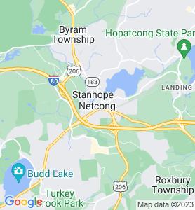 Netcong NJ Map