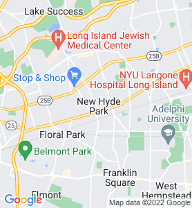 New Hyde Park NY Map