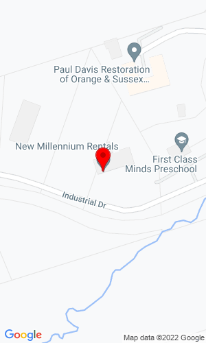 Google Map of New Millennium Rentals, Inc. 4 Industrial Drive, Florida, NY, 10921