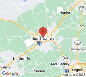 Job Map - New Braunfels, Texas  US