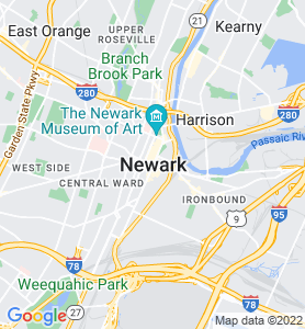 Newark NJ Map
