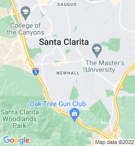 Newhall CA Map