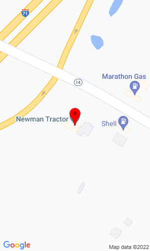 Google Map of Newman Tractor 2841 Verona Road, Verona, KY, 41092,