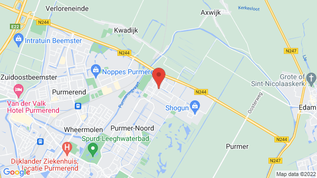 Adrie+Jonk+Purmerend op Google Maps