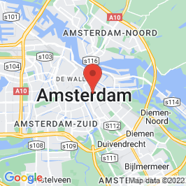 Google map of CREA, Amsterdam