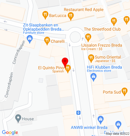 Google Map of Nieuwe Ginnekenstraat 8 4811 NR Breda