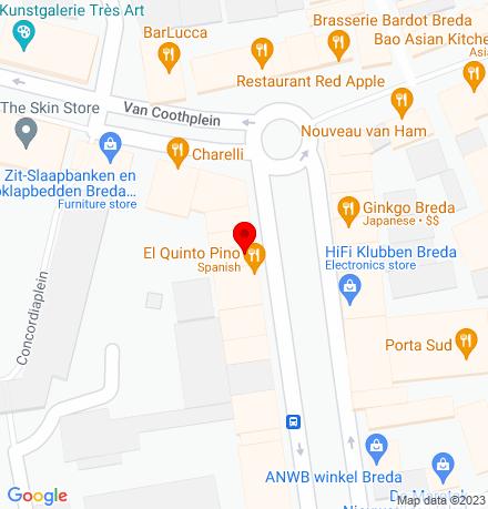 Google Map of Nieuwe Ginnekenstraat 8 4811 NR Breda