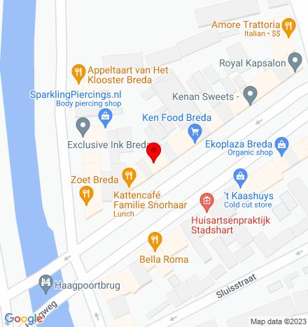 Google Map of Nieuwe Haagdijk 34 4811 TE Breda