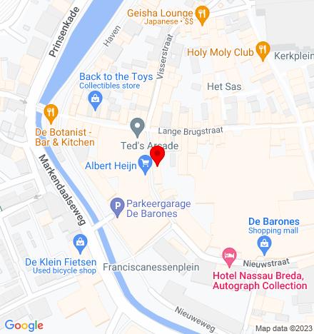 Google Map of Nieuwstraat 46 4811 WV Breda
