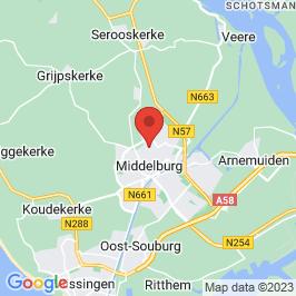 Google map of Roggeveenhuis, Middelburg