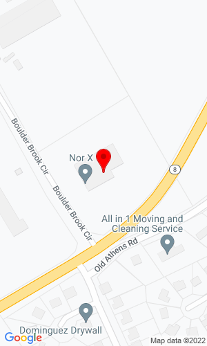 Google Map of Nor X PO Box 789 , Lawrenceville, GA, 30046,