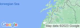Nordland map