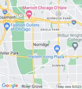 Norridge IL Map