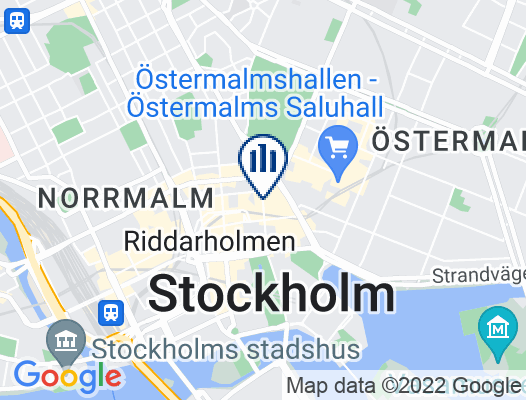Google Map of Norrlandsgatan 18, 111 43 Stockholm, Schweden