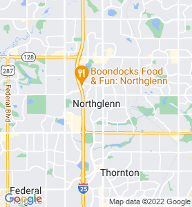 North Glenn CO Map