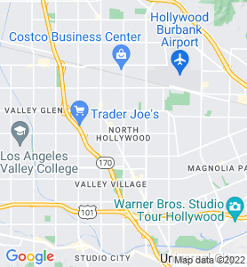 North Hollywood CA Map