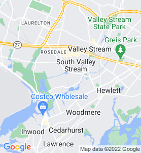 North Woodmere NY Map