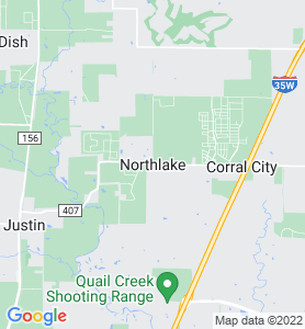 Northlake TX Map