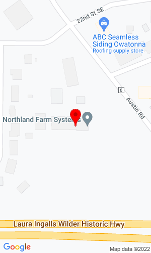 Google Map of Northland Farm Systems 2250 Austin Road, Owatonna, MN, 55060