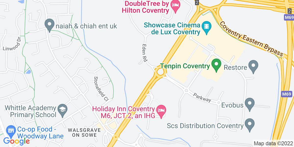 Google Map of Northview Walsgrave TriangleCoventry Coventry CV2 2SJ
