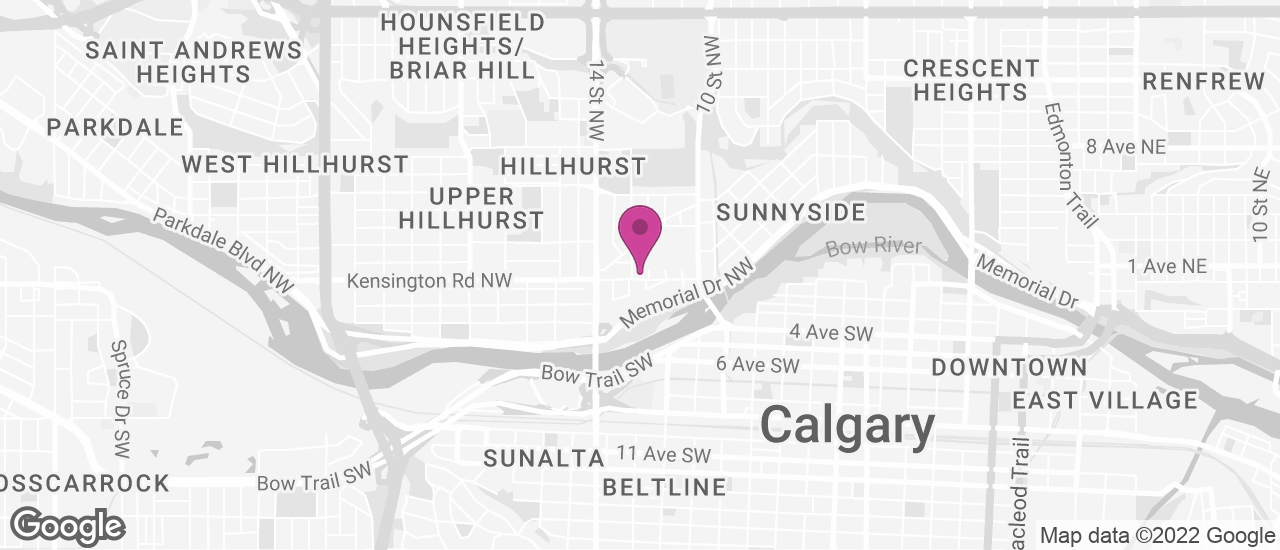 Google Map of Northweather Calgary