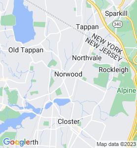 Norwood NJ Map