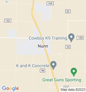 Nunn CO Map