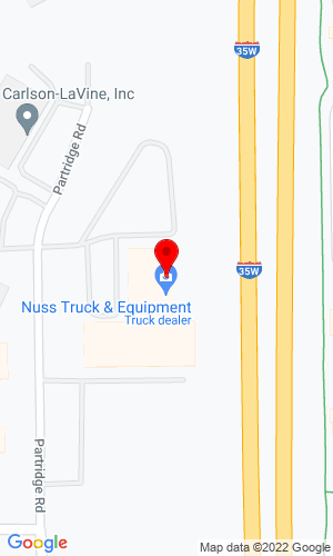 Google Map of Nuss Truck & Trailer 2195 W. County Road C2, Roseville, MN, 55113,