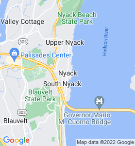 Nyack NY Map