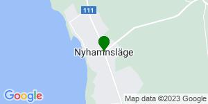 Googlekarta �ver Nyhamnsläge