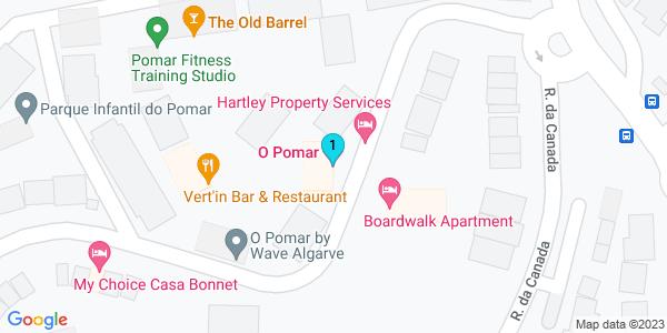 Google Map of O Pomar 8800-057 Cabanas Tavira