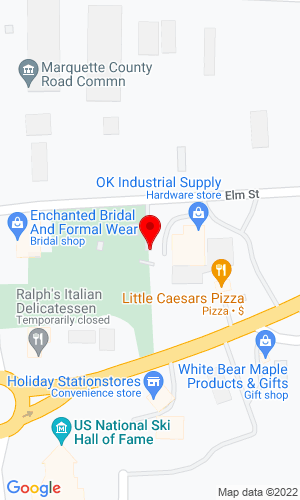 Google Map of O.K. Rental Sales & Service 605 Elm Street, Ishpeming, MI, 49849