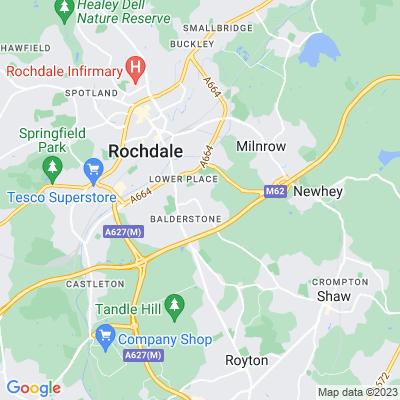 Springhill, Rochdale Location