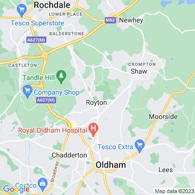 Royton Hall Park Location
