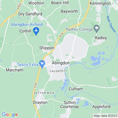 Albert Park, Abingdon Location