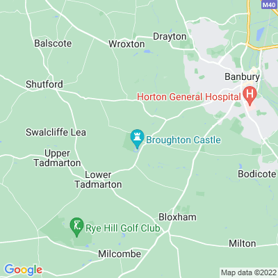 Broughton Castle Location