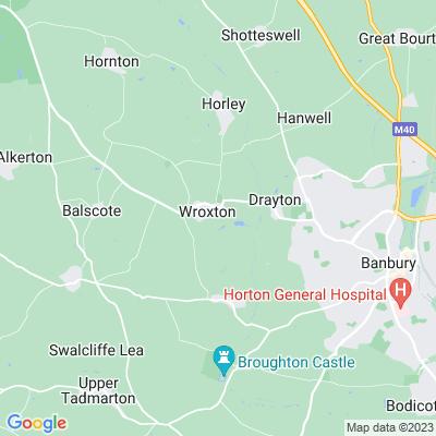 Wroxton Abbey Location
