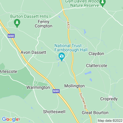 Farnborough Hall Location